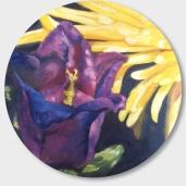 """Bellflower, Oil (28.25"""")"""