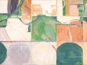 "Kansas No. 1, Oil and Acrylic (24""x32"")"